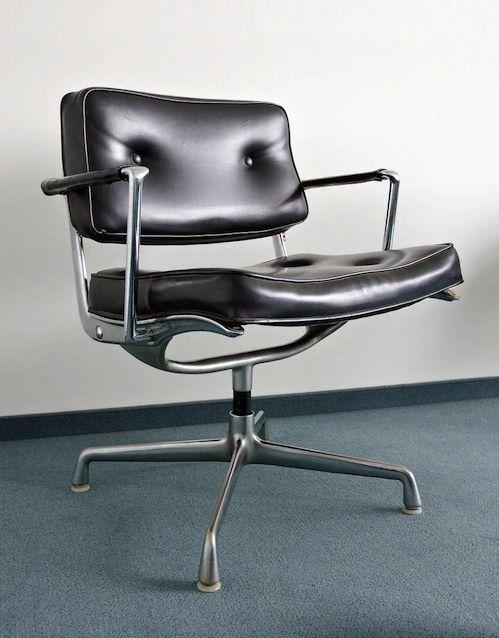 Eames ES 102 Intermediate Swivel Arm Chair, 1968