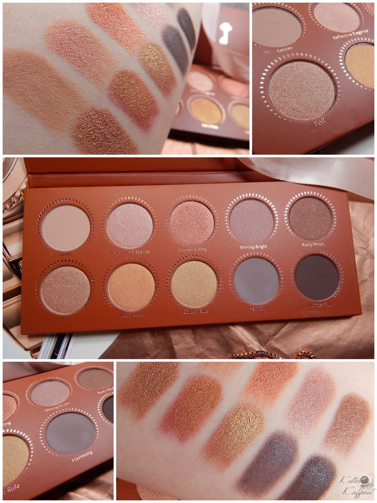 New: Zoeva Rose Golden Palette - Kalter Kaffee