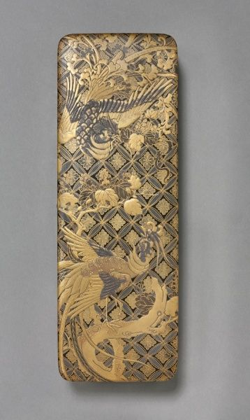 "[Letter Box, 1615-1868 Japan, Edo Period (1615-1868) (Via Vicky Nieto - ""JAPANESE Inro, Ojime, Netsuke"" board)] http://www.pinterest.com/vickyn27/japanese-inro-ojime-netsuke/"