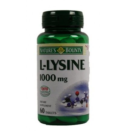 Nature's Bounty L-Lysine is an essential amino acid that cannot be made by your body. Helps heal acne, and supports the repair of damaged tissues by promoting the production of collagen. $6.39 # gonatural