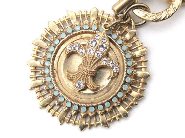 CatherinePopesco(カトリーヌポペスコ)百合の紋章ブレスレット
