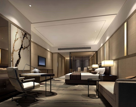 Bedroom idea --- Hilton Hotels & Resorts Opens Hotel In Zhongshan, China
