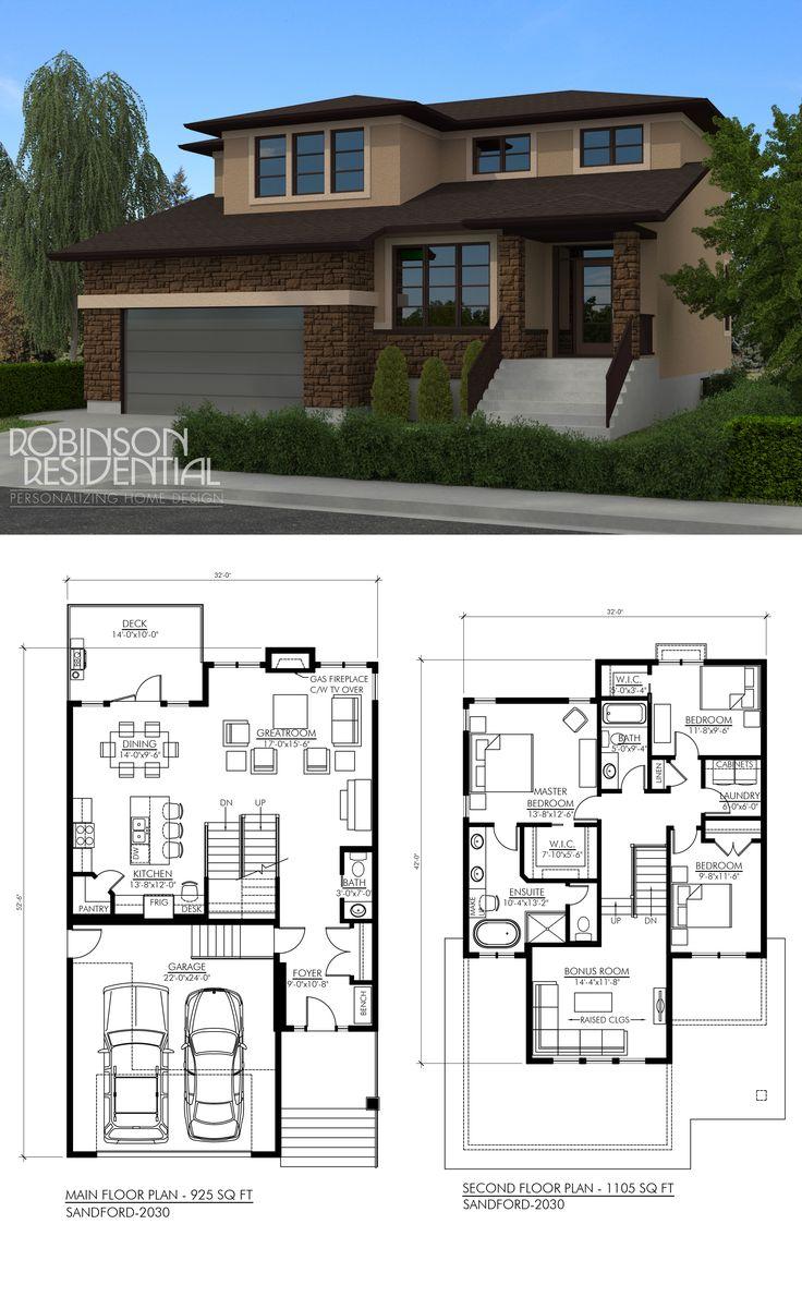 2030 sq. ft, 3 bedroom, 2.5 bath