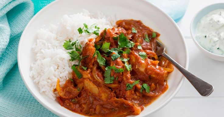 Create beautiful meals with no fuss. This slow-cooked chicken curry is super easy to prepare.