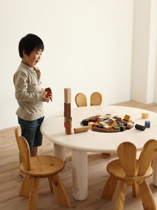 Ecological and Funny Furniture for Kids Bedroom by Hiromatsu