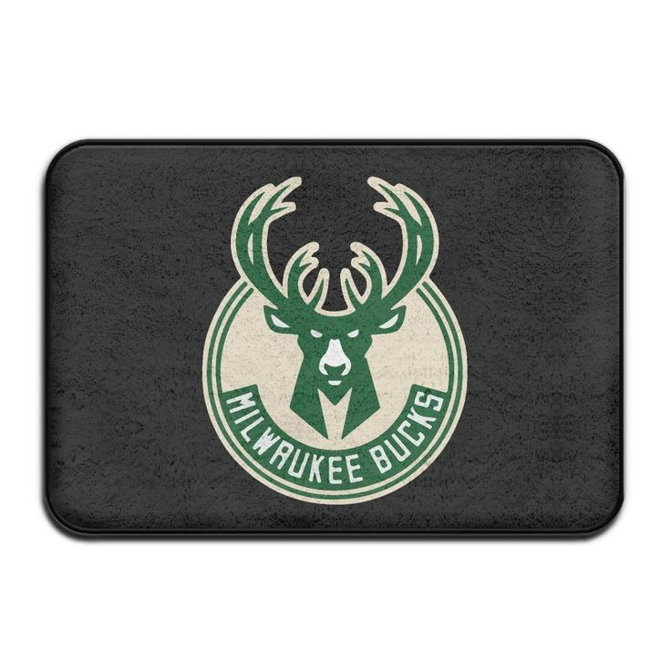 Kongpao Milwaukee Bucks Logo Doormats / Entrance Rug Floor Mats >>> Remarkable discounts available  : Doormats