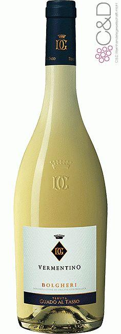 Folgen Sie diesem Link für mehr Details über den Wein: http://www.c-und-d.de/Toskana/Vermentino-Bolgheri-DOC-2015-Tenuta-Guado-al-Tasso_71714.html?utm_source=71714&utm_medium=Link&utm_campaign=Pinterest&actid=453&refid=43 | #wine #whitewine #wein #weisswein #toskana #italien #71714