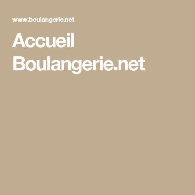 Accueil Boulangerie.net