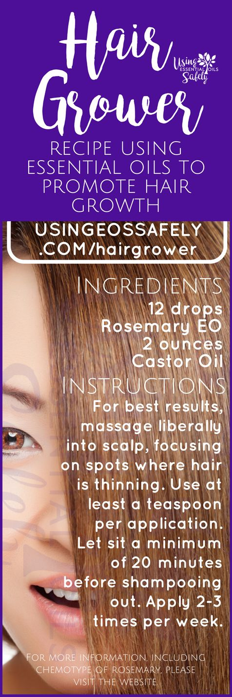 Hair Grower – recipe using essential oils to promote hair growth | Using Essential Oils Safely