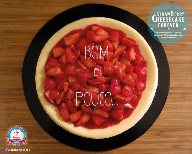 Cheesecake de morangos -/- Strawberry cheesecake