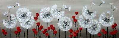Dandelion Clocks and Buttercups