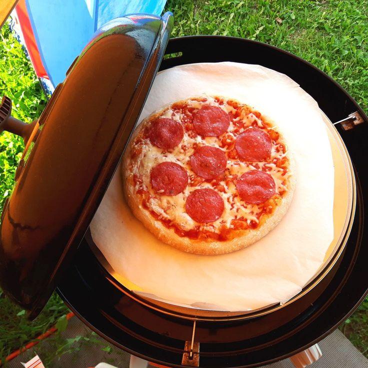 Zo bak je een pizza in de skottelbraai! - Het keukentje van Syts