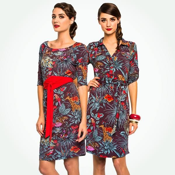 Jungle Juice print. 2014 Leona Edmiston dress