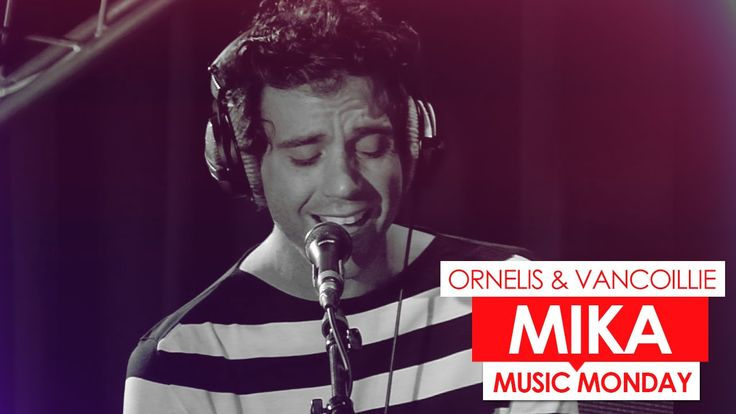 Mika - She's Always A Woman To Me (cover) at belgium Radio (June 8th, 2015)