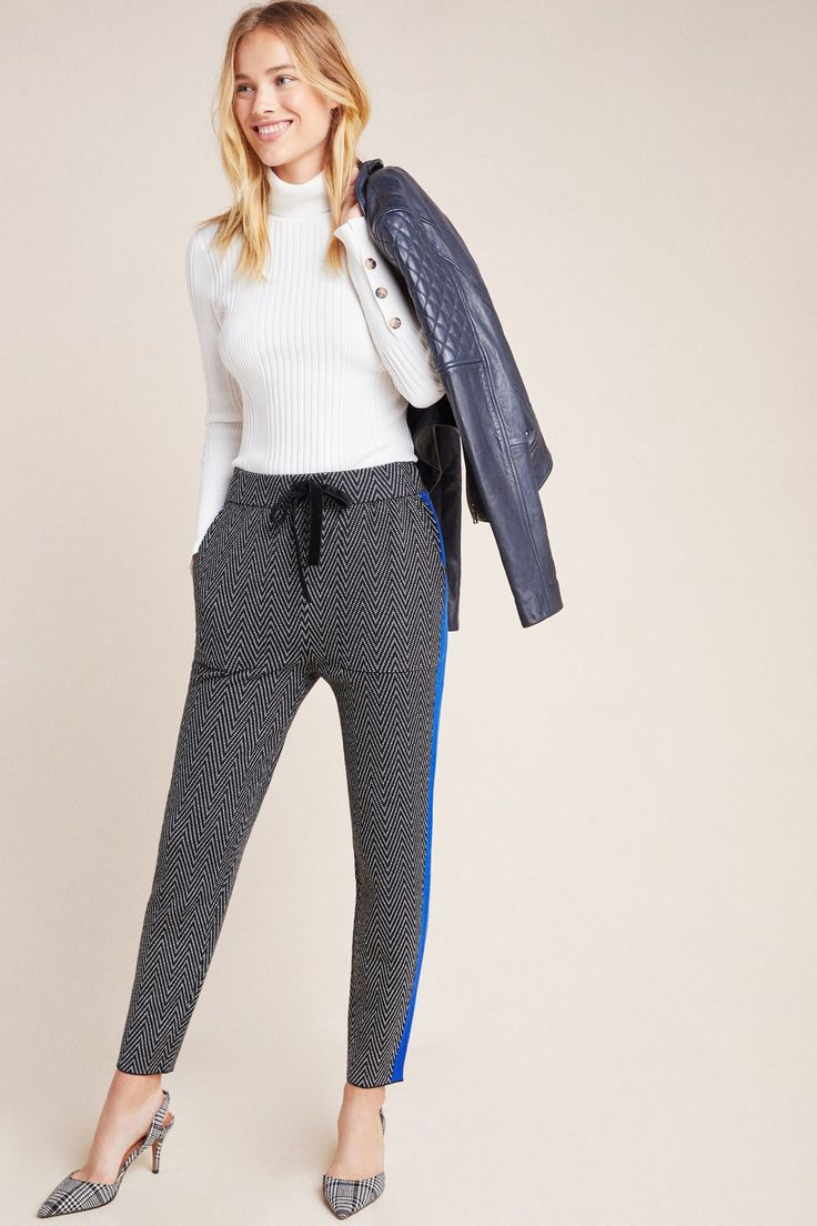 Sweater-Knit Joggers by Anthropologie in Black Size: Xs, Women's Pants 1