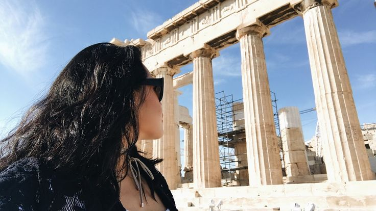 ON TOP OF THE ACROPOLIS | Athens, Greece | Marggie Travels