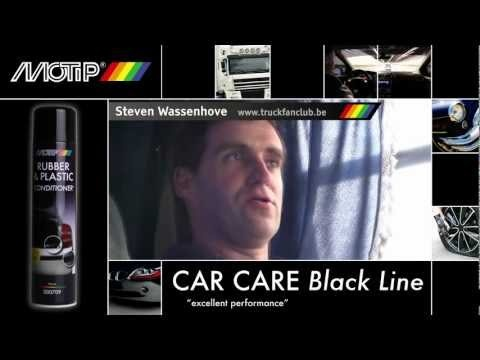 MOTIP Car Care Black - Rubber & Plastic Conditioner (testimonial)  www.thebuzzcompany.be
