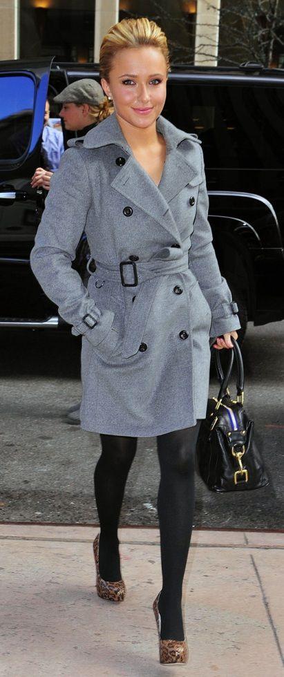 Hayden Panettiere black nylons