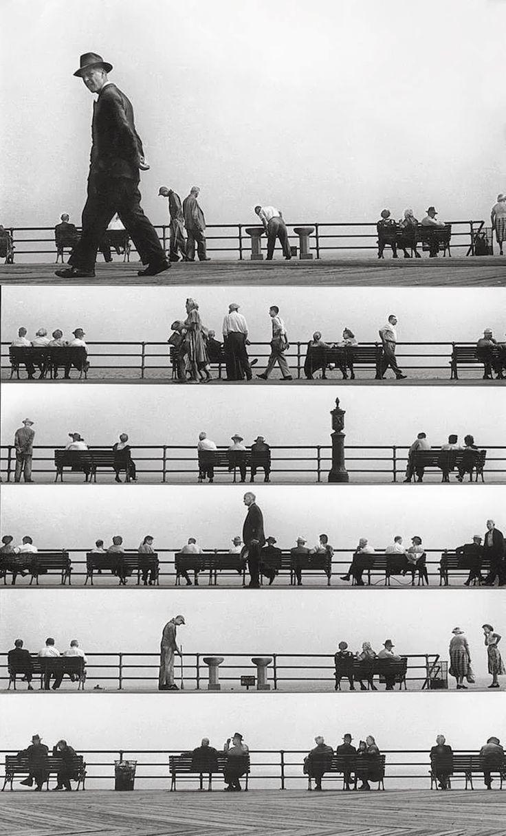 Harold Feinstein - Sheet Music Montage, Coney Island 1950 BRILLIANT!!!