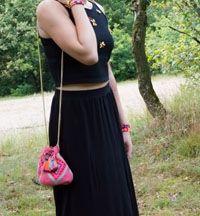 Wayuu Mochila bag. Brand: Chila Bags. Buy at www.wayuumochilaartbags.nl