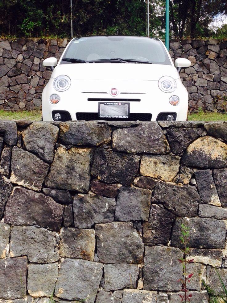 Fiat 500 on the rocks | Fiat 500 | Pinterest | Fiat 500, Fiat and The rock