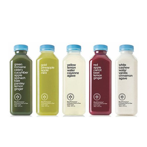 BluePrint Cleanse - Whole Foods. Every bottle is packed with raw, organic fruit and vegetable juices. Weather you choose to buy bottle or the entire set, you'll feel spiffy in no time. Where to buy: You can order it online, but if you're in a time crunch, then head to your local Whole Foods.