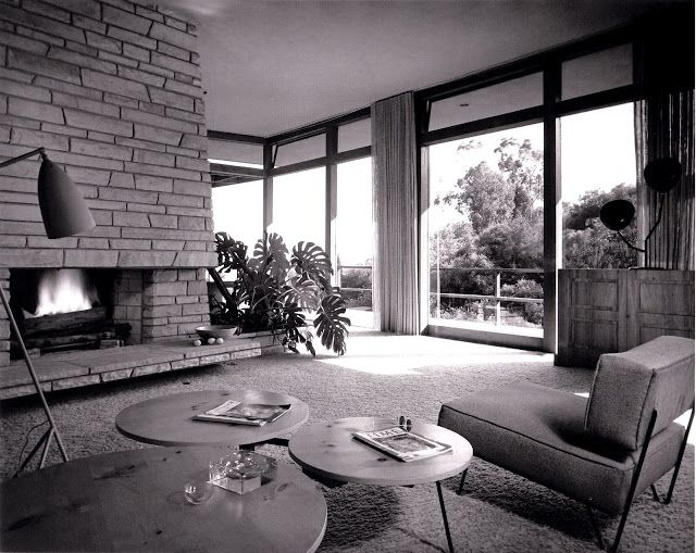 1949 Backus House | Architect: Greta Magnusson Grossman | Nimes Rd, Bel Air Estates, Los Angeles