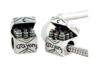 Crayon Pandora Charm - Crayon Pandora Charm and Crayon Pandora Charms At Big Discounts