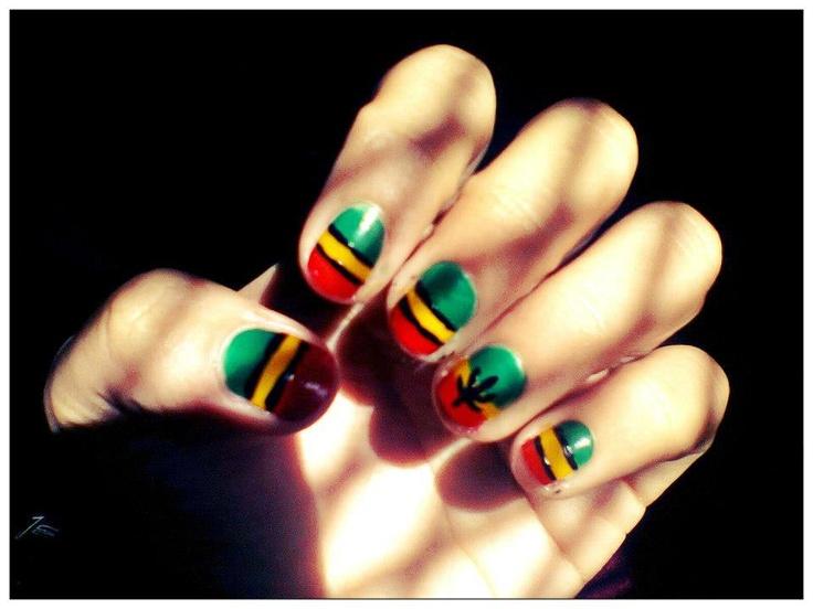 Dorable Jamaican Nail Art Designs Pictures - Nail Paint Design Ideas ...