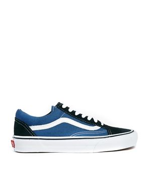 Image 1 of Vans Old Skool Navy Trainers