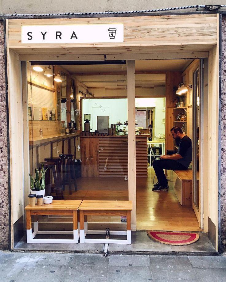 Syra Coffee + Barcelona + Espaços pequenos