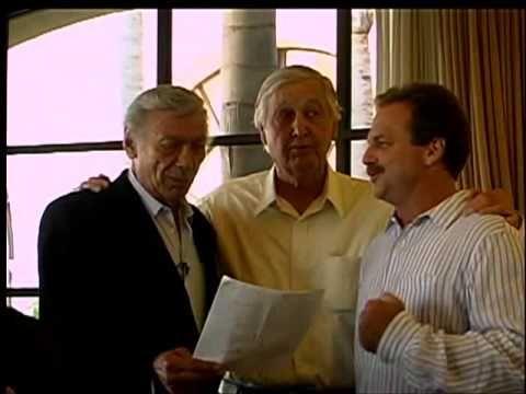 Ed Ames (Mingo), Fess Parker (Daniel Boone), and Darby Hinton