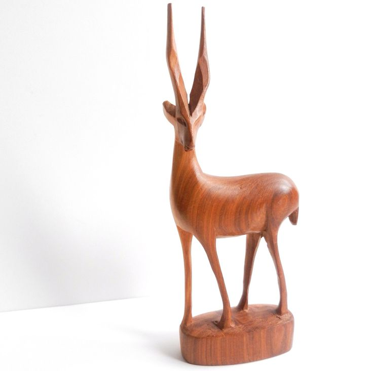 Wooden Antelope - my nana had one