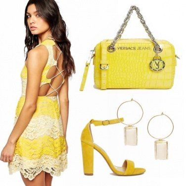 Outfit A tutto yellow!