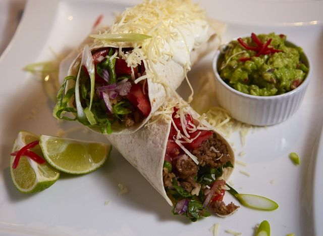 Haggis Burrito - a great way to use up leftover Haggis from Burns' Night