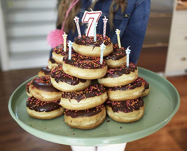donut cake awesomeness