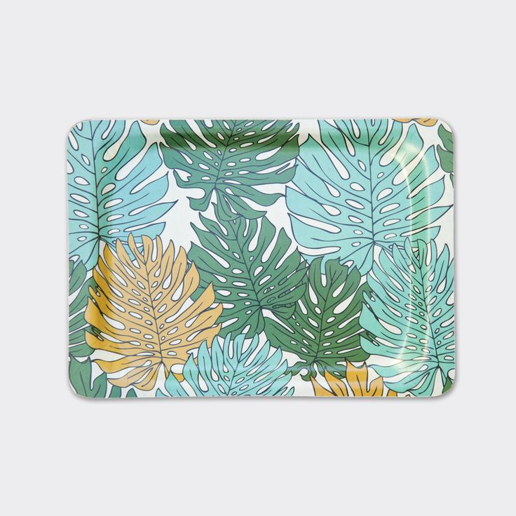Delicious Monster Leaf Serving Tray