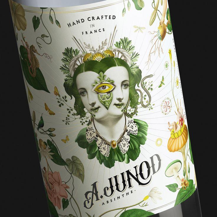 A. Junod - Absinthe on Behance