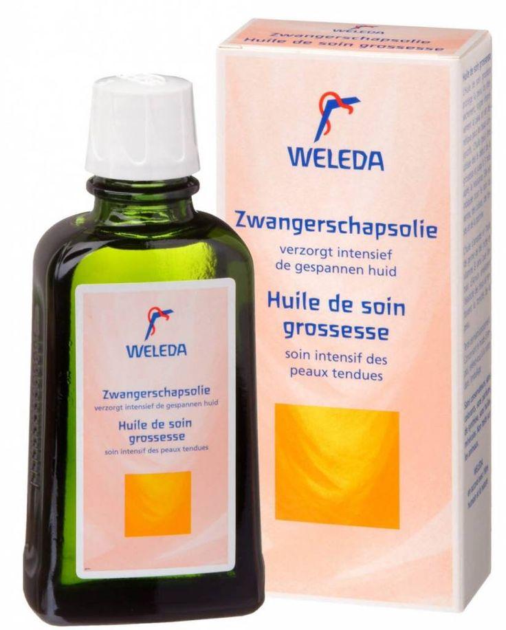 Zwangerschapsolie van Weleda is een lichte olie met de geur van sinaasappelbloesem en rozen die zacht aanvoelt op je huid