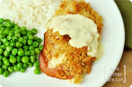 Chicken Cordon Bleu. TRIED .......This was WONDERFUL!!!  The family LOVED it!!!  The sauce for this is delicious though I highly recomend it.