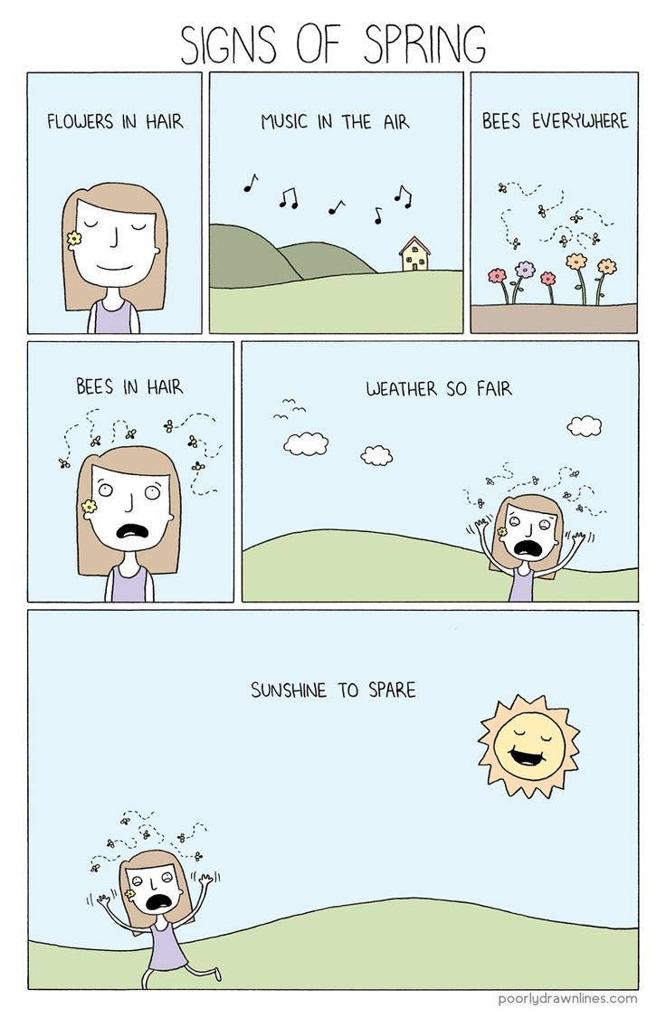 Signs of Spring - Poorly Drawn Lines
