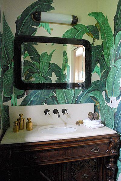 Tropical Walls | | Fabrics & Wallpapers | | Tropical ...