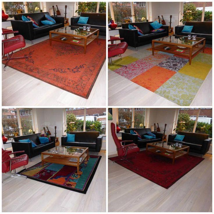Welk vloerkleed zou u kiezen? De zichtservice maakt het mogelijk bij u thuis!