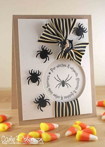 adorable halloween card