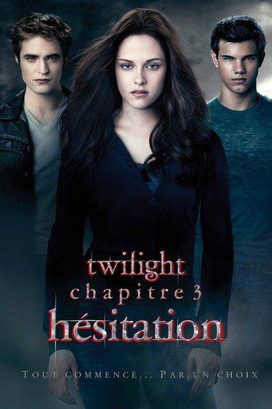 Twilight, chapitre 3 : Hésitation (2010) Regarder Twilight, chapitre 3 : Hésitation (2010) en ligne VF et VOSTFR. Synopsis: Des morts suspectes dans les environs de Seattle laissent présag...