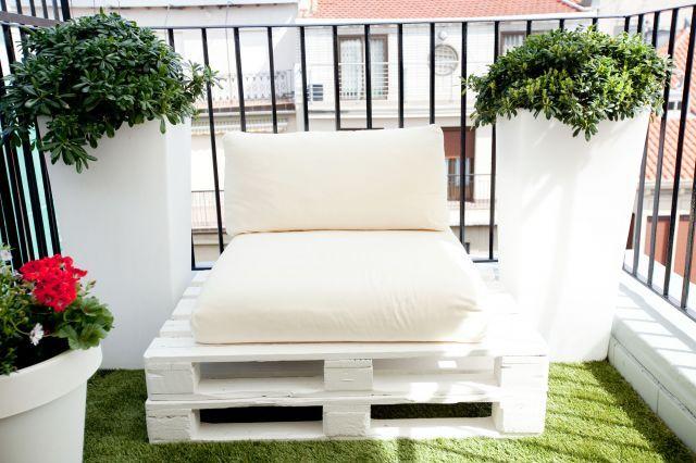 189 mejores im genes sobre ideas terraza en pinterest - Decorar terrazas reciclando ...