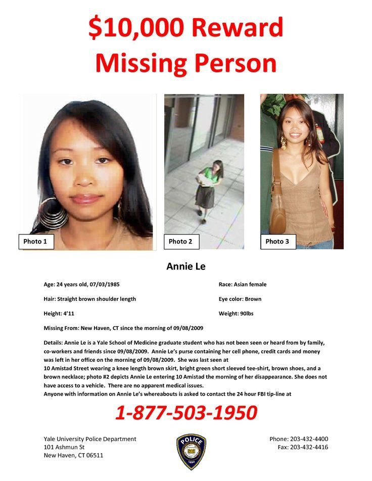 recent missing people - 736×952