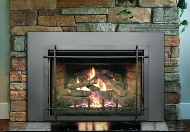 Zero Clearance Direct Vent Gas Fireplace Home Hearth Gas Inserts