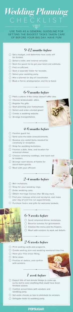 Best 25+ Wedding timeline planner ideas on Pinterest Wedding - birthday party guest list