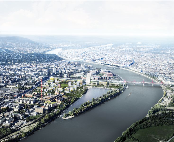 Gallery of Budapest's Largest Urban Development in 30 Years Begins Construction - 4